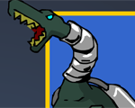 Robot Dinosaur: Shooting Game