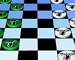 Checkers Board Online