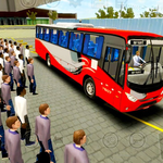 Football Players Bus Transport Simulation