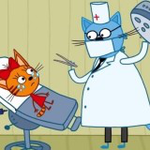 Three Cats: Dentist